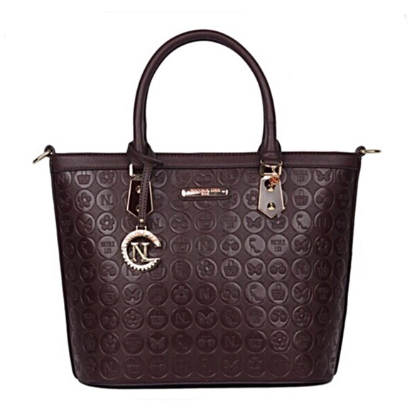 Nicole Lee Handbags - ✤ Yasmin Engraved Shopper by Nicole Lee